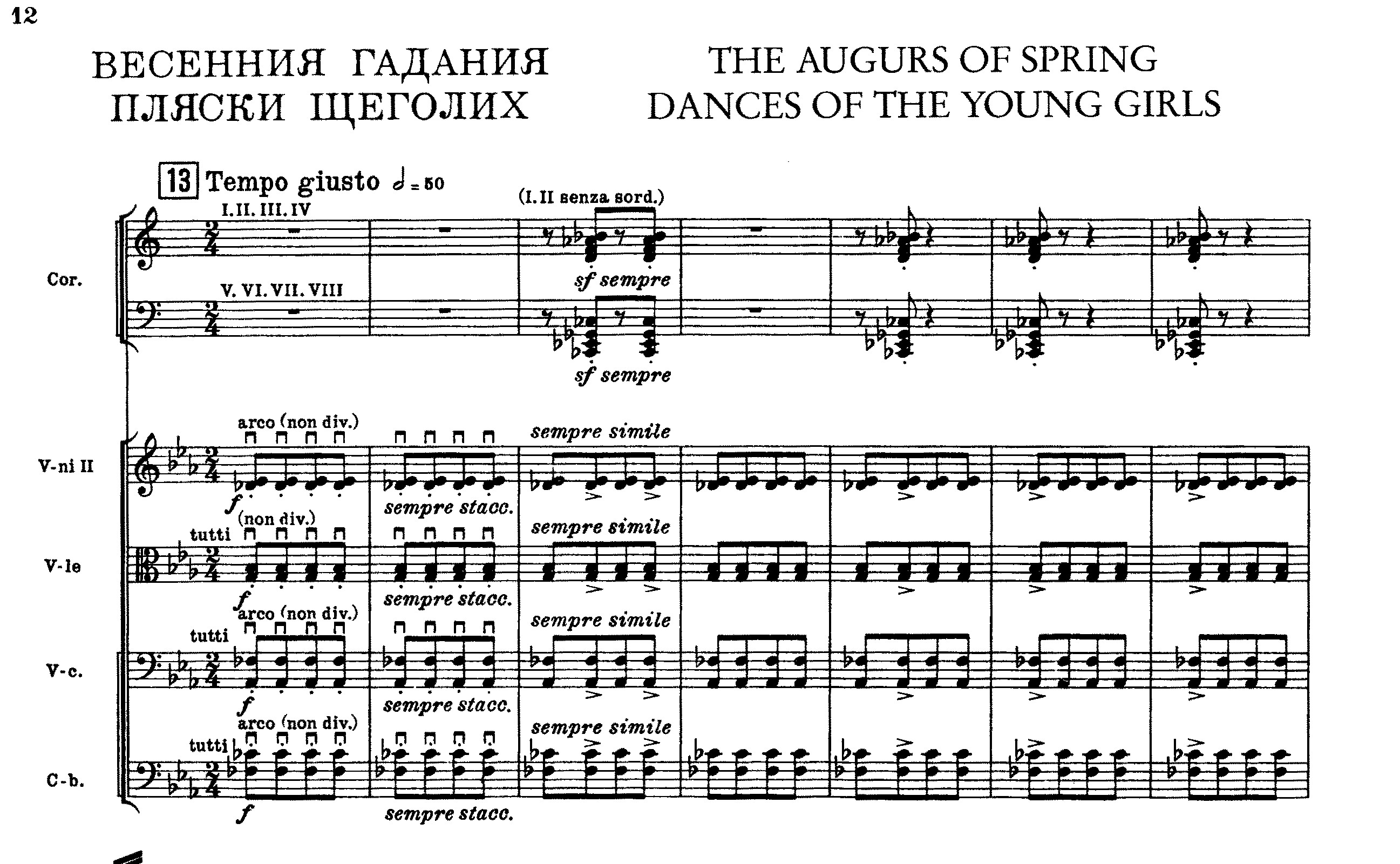 The rite of spring at 100 classical life