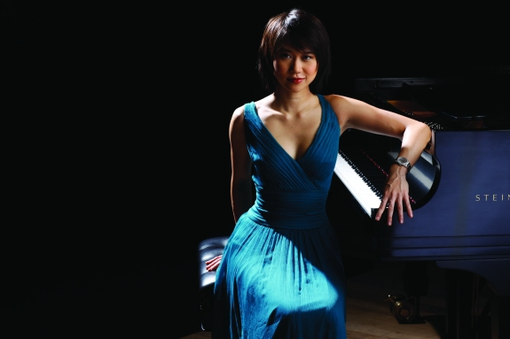 Pianist Yuja Wang. Credit: Rolex, Fadil Berisha