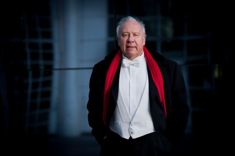 Conductor Neeme Jarvi.  Credit: Simon van Boxtel