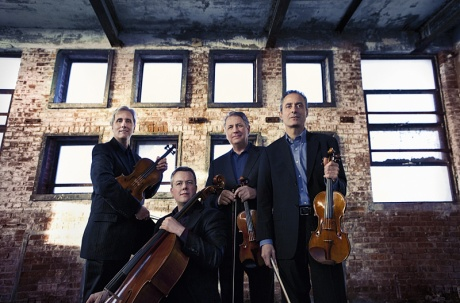 The Emerson String Quartet. Photo:  Lisa-Marie Mazzucco