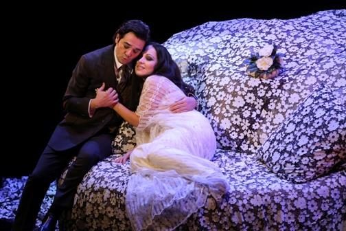 LA Opera - LA Traviata Piano Dress #2 Photo by Craig T. Mathew/Mathew Imaging