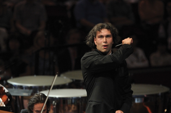 Conductor Vladimir Jurowski is shown. Chris Christodoulou