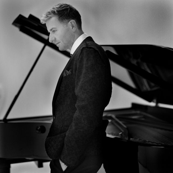 Pianist Jean-Yves Thibaudet is shown. IMG Artists
